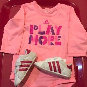 Baby girl top and shoes
